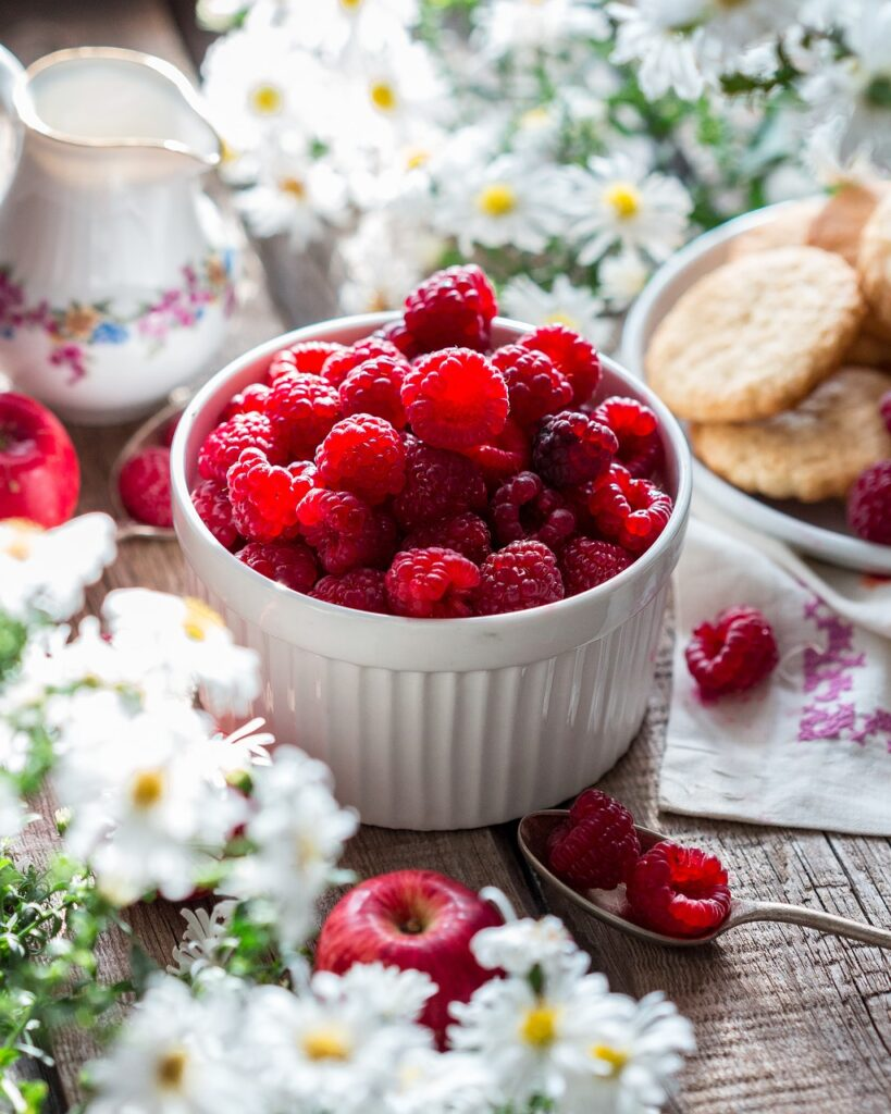 raspberry, berry, ripe
